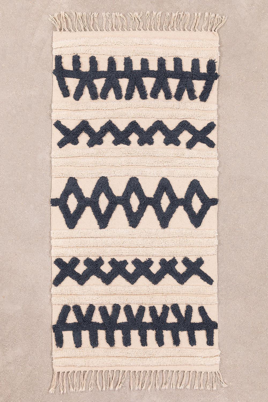 Katoenen vloerkleed (160x70 cm) Belin, galerij beeld 1