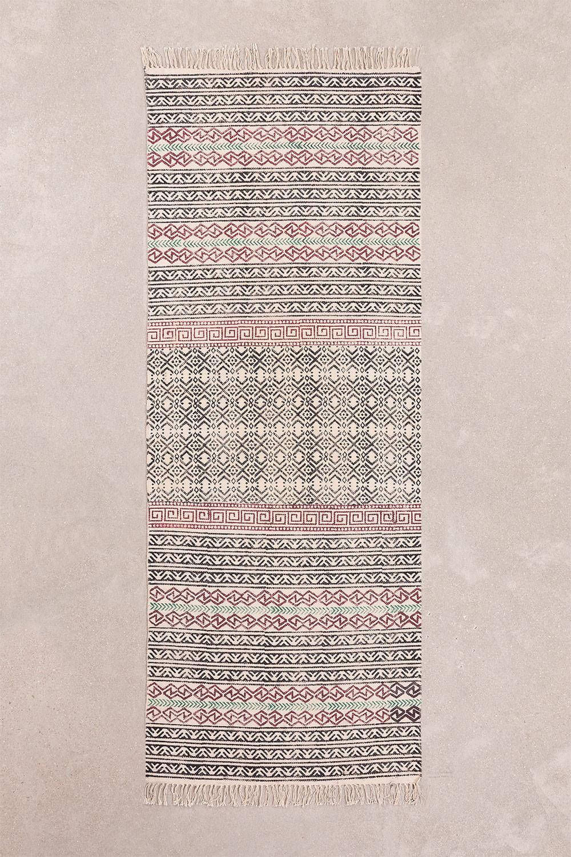 Katoenen vloerkleed (203x79 cm) Sousa, galerij beeld 1