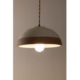 Eilys porseleinen plafondlamp, miniatuur afbeelding 4