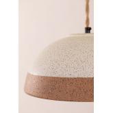 Eilys porseleinen plafondlamp, miniatuur afbeelding 5