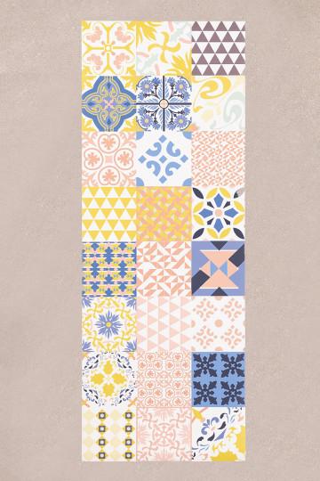 Zule vinyl tapijt