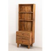 Kast van gerecycled hout Jara, miniatuur afbeelding 2