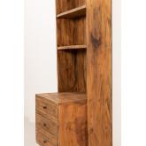 Kast van gerecycled hout Jara, miniatuur afbeelding 3