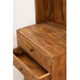 Kast van gerecycled hout Jara, miniatuur afbeelding 4