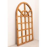 Spiegel van gerecycled hout (149x87 cm) Vient, miniatuur afbeelding 3