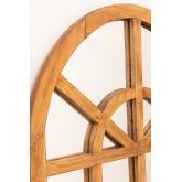 Spiegel van gerecycled hout (149x87 cm) Vient, miniatuur afbeelding 4