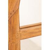 Spiegel van gerecycled hout (149x87 cm) Vient, miniatuur afbeelding 5