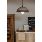 Eilys porseleinen plafondlamp, miniatuur afbeelding 2