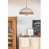 Eilys porseleinen plafondlamp, miniatuur afbeelding 1