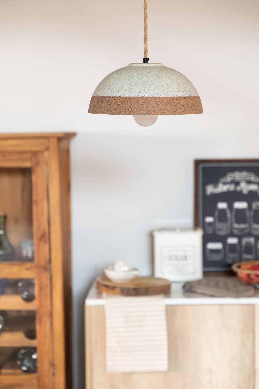 Eilys porseleinen plafondlamp, galerij beeld 1