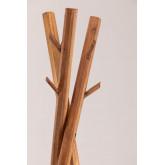 Varah-kapstok van gerecycled hout, miniatuur afbeelding 3