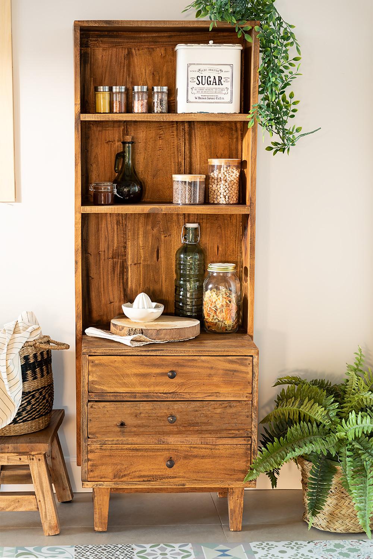 Kast van gerecycled hout Jara, galerij beeld 1