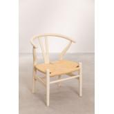 Mini Uish Kids Wooden Chair , miniatuur afbeelding 2