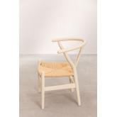 Mini Uish Kids Wooden Chair , miniatuur afbeelding 3