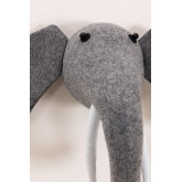 Elephant Kids Animal Head, miniatuur afbeelding 3