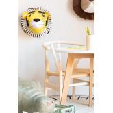 Dierenkop Tiger Kids, miniatuur afbeelding 1