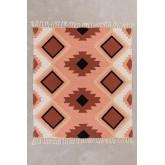 Kelsy katoenen plaid deken, miniatuur afbeelding 2