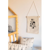 Robin KIds Cotton Wall Hanging, miniatuur afbeelding 1