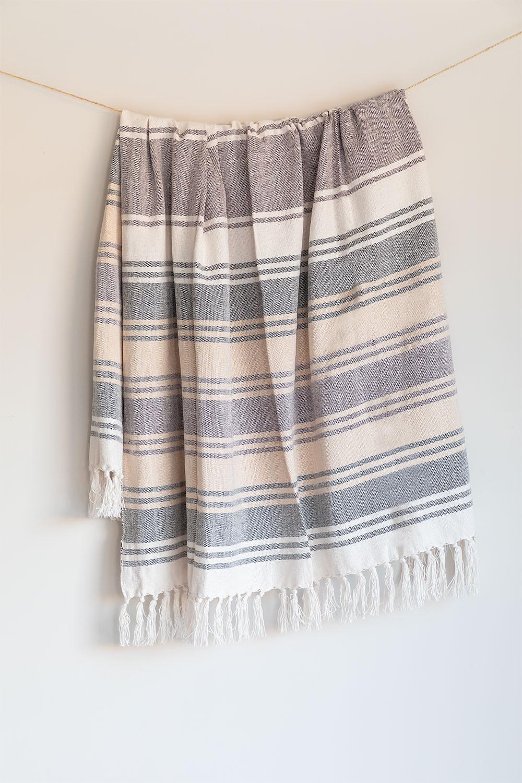 Geruite katoenen deken Kasku, galerij beeld 1