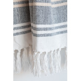 Geruite katoenen deken Kasku, miniatuur afbeelding 4