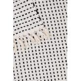 Aryas katoenen plaid deken, miniatuur afbeelding 4