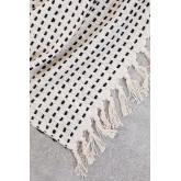 Aryas katoenen plaid deken, miniatuur afbeelding 3