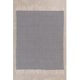 Geruite deken in Tajum katoen, miniatuur afbeelding 2