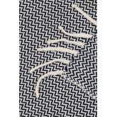 Geruite deken in Tajum katoen, miniatuur afbeelding 4