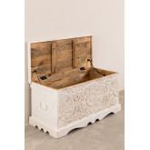 Kurf houten koffer, miniatuur afbeelding 3