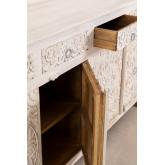 Dimma houten dressoir met lades, miniatuur afbeelding 3
