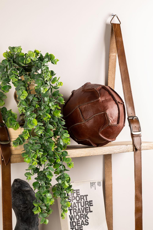 Decoratieve Greenby lederen bal , galerij beeld 1