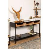 Emberg houten console, miniatuur afbeelding 1