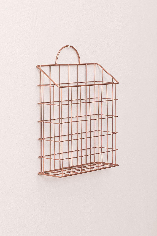 Metalen wandplank Asier, galerij beeld 1