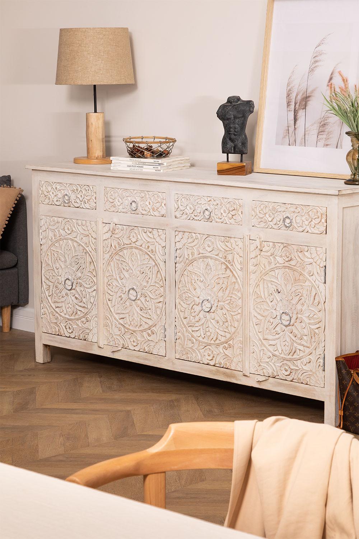 Dimma houten dressoir met lades, galerij beeld 1