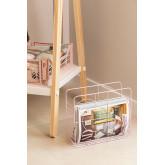 Urial stalen tijdschriftenrek, miniatuur afbeelding 1