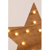 Houten ster met led-verlichting Lliva, miniatuur afbeelding 4