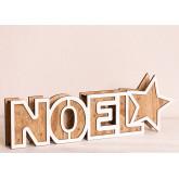 Noel houten bord met led-verlichting, miniatuur afbeelding 2