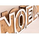 Noel houten bord met led-verlichting, miniatuur afbeelding 5