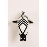 Dierenkop Zebra Kids, miniatuur afbeelding 3