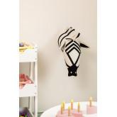 Dierenkop Zebra Kids, miniatuur afbeelding 1