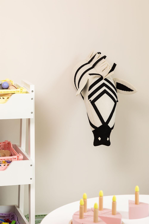 Dierenkop Zebra Kids, galerij beeld 1