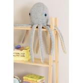 Suly Kids Katoenen Pluche Octopus, miniatuur afbeelding 1
