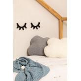 Decoratieve muurtabs in MDF Ais Kids, miniatuur afbeelding 1