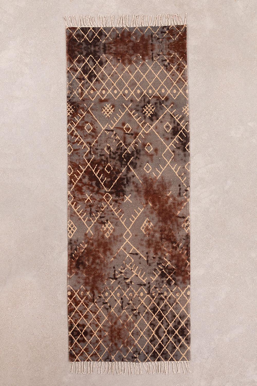 Katoenen vloerkleed (200x72 cm) Kelman, galerij beeld 1