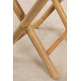 Woody Lage bamboe kruk , miniatuur afbeelding 6