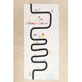 Katoenen vloerkleed (160x74 cm) Ray Kids, miniatuur afbeelding 2