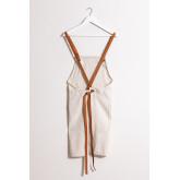 Zacari linnen en katoenen schort, miniatuur afbeelding 3