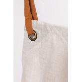 Zacari linnen en katoenen schort, miniatuur afbeelding 4