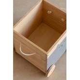 Madys houten opbergwagen voor kinderen, miniatuur afbeelding 5