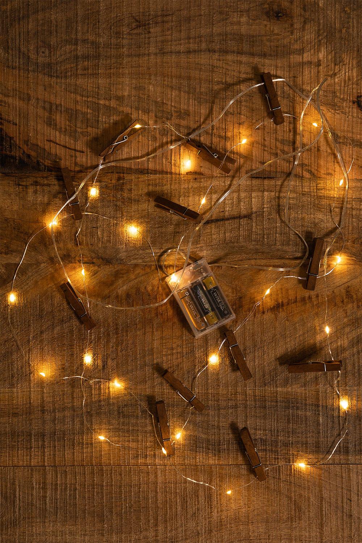 Decoratieve LED Slinger met Klemmen Pitres, galerij beeld 1
